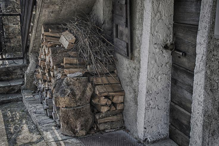 Firewood Legna da ardere by SimonaCrippa