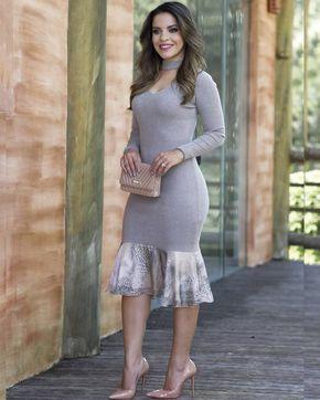 """5,018 curtidas, 467 comentários - P A O L A S A N T A N A (@paaolasantanaa) no Instagram: """"{Apenas perfeito esse vestido da @fasciniusmodaevangelica } Modelagem, acabamento, totalmente…"""""""