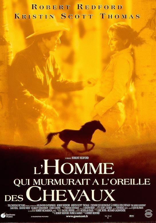"""239. """"L'Homme qui murmurait à l'oreille des chevaux"""" de R. Redford avec R. Redford, C Scott Thomas. 1998"""