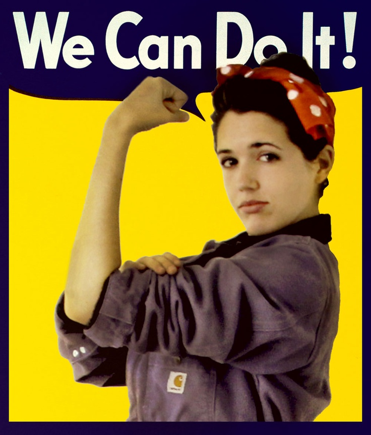 diy rosie the riveter costume diy halloween costume - Rosie The Riveter Halloween Costume