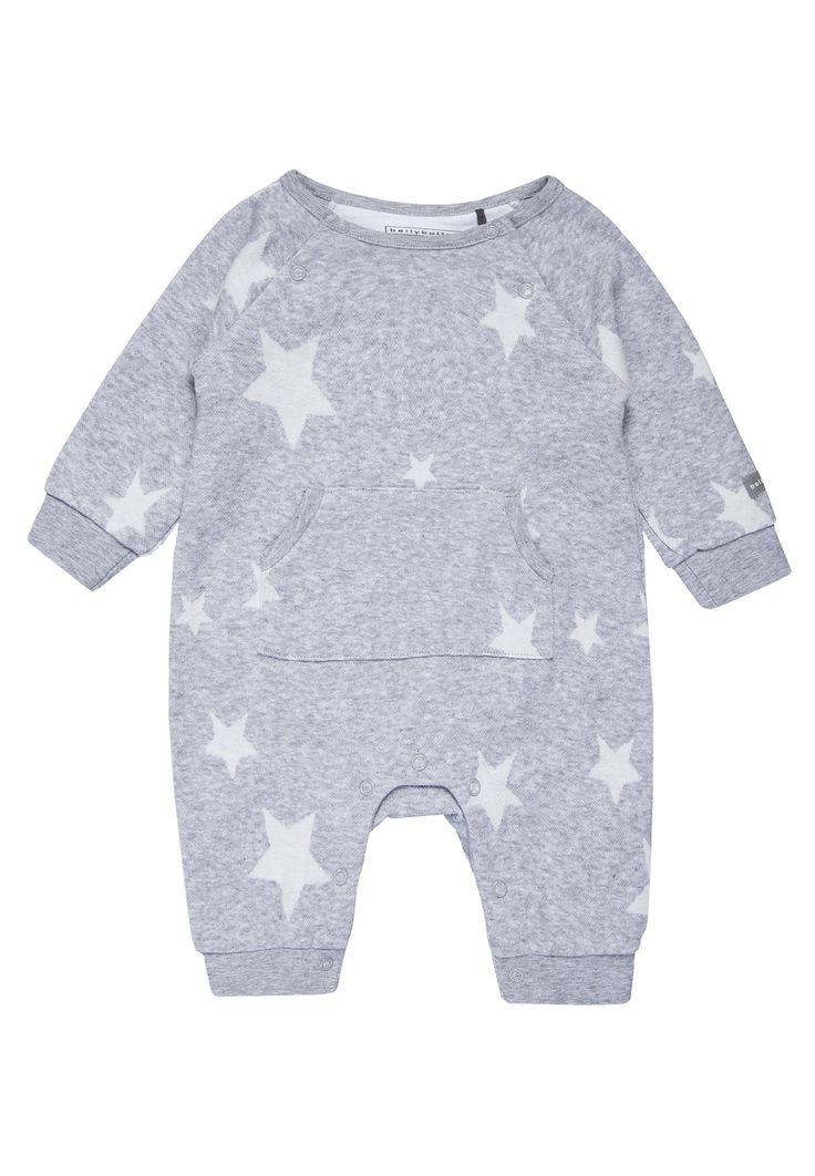Bestill  bellybutton OVERALL 1/1 ARM BABY - Jumpsuit - silvermelange gray for kr 399,00 (05.02.18) med gratis frakt på Zalando.no