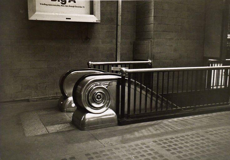 Duane Michals, from Empty New York, c. 1964