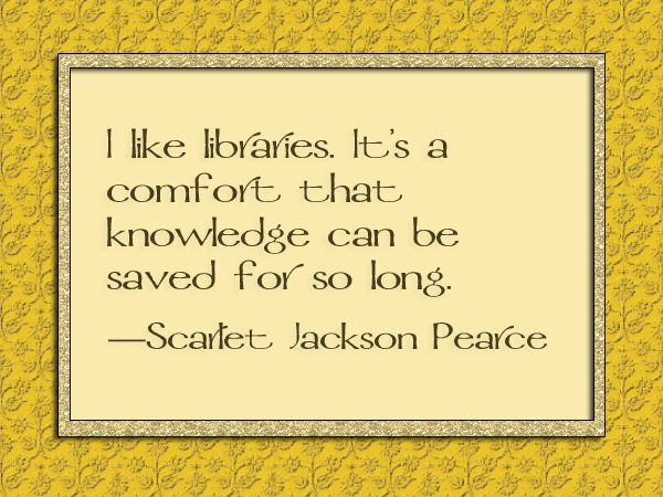 Scarlet Jackson Pearce quote