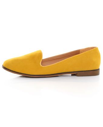I'm in need of some new yellow shoes....definitely necessary.