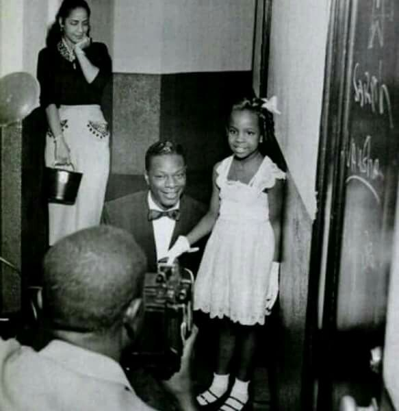 Gladys Knight with Nate King Cole.