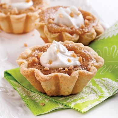 Tartelettes à l'érable - Recettes - Cuisine et nutrition - Pratico Pratique