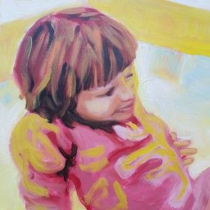 """Oilpainting Maria Tomczak. """"Work In Progress – Getting Inspiration From Bad Photos"""""""