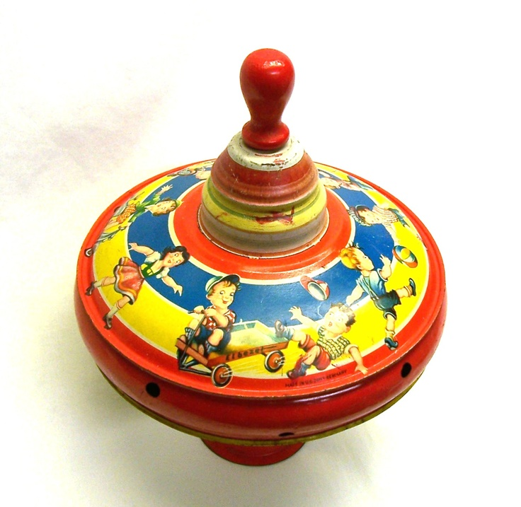 Retro Top Toys : Best vintage spinning top images on pinterest