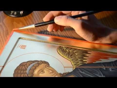 Byzantine Iconography - St Archangel Michael 8/8 - YouTube