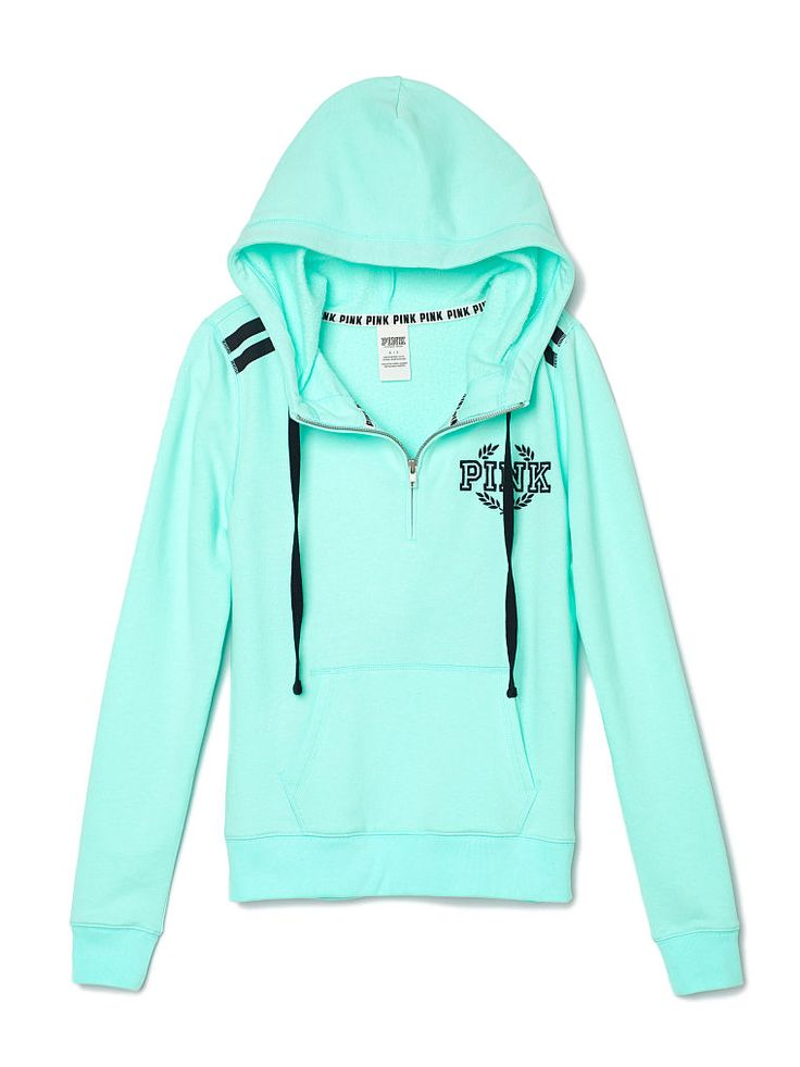 Pullover Hoodie Vs Zip Up Pink Sweaters Victoria's Secret 2016 Baggage Clothing