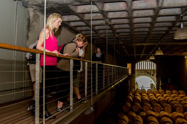 Wine Cellar Tour at Groot Constantia #FeelGroot