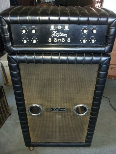 Fogerty Used Recorded 60s Kustom Amp Creedence 100