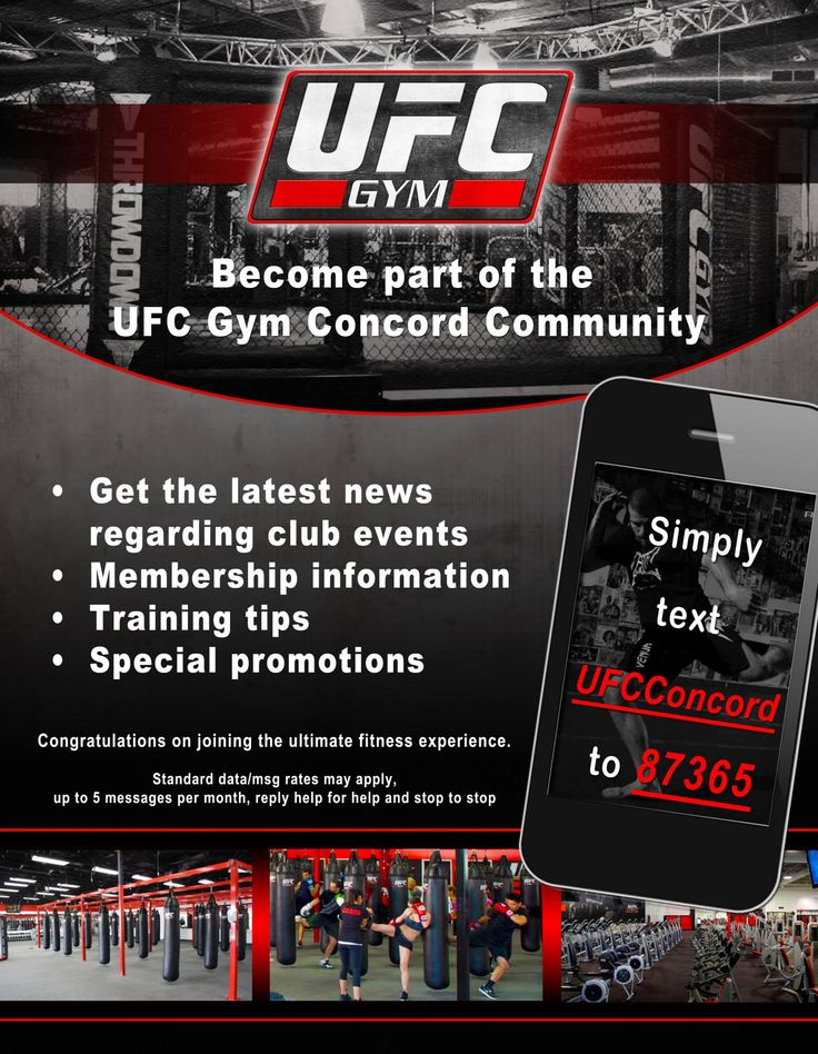 UFC Gym Flyer Print Product Designs Pinterest UFC and - ufc flyer template