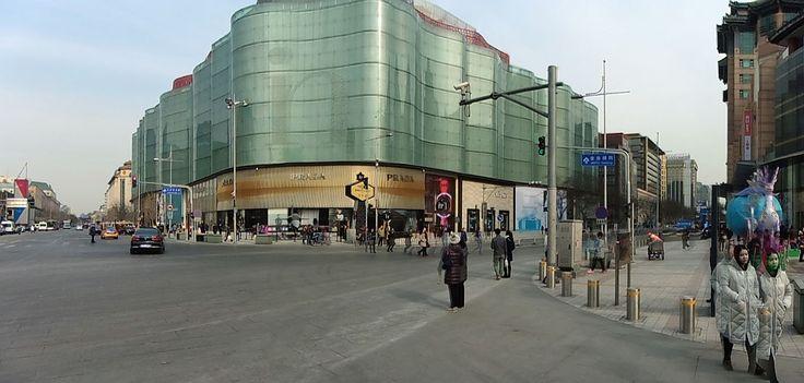 Pradan lippulaivamyymälä, Peking.