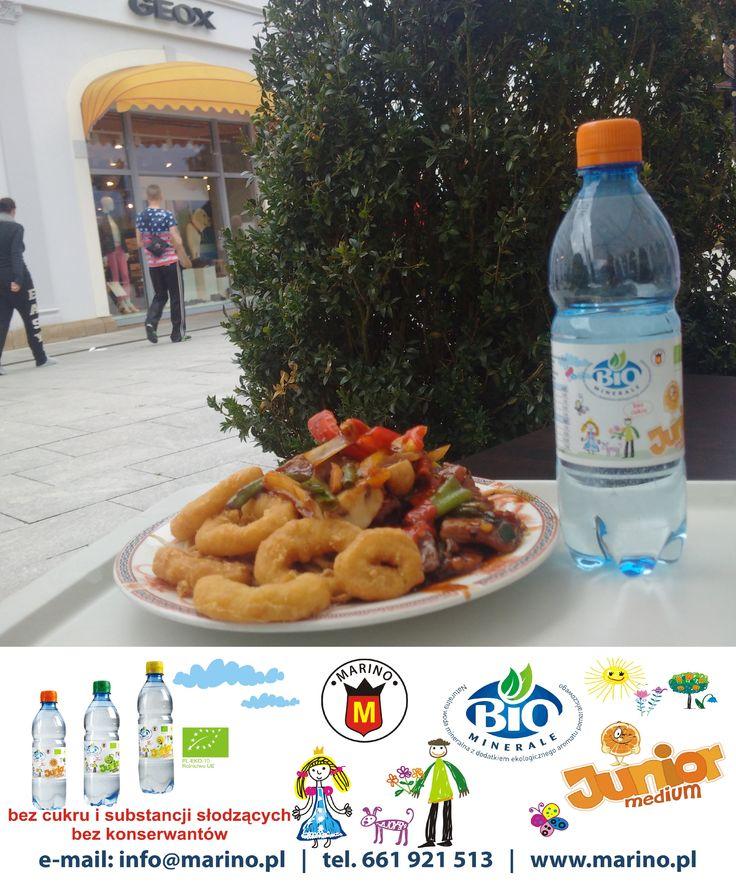 BioMinerale JUNIOR do każdej potrawy  Woda mineralna o smaku cytrynowym, jabłkowym lub pomarańczowym *Bez cukru, substancji słodzących i Bez konserwantów z certyfikatem BIO.  BioMinerale Junior do nabycia w ogólnopolskiej sieci NETTO. http://www.netto.pl