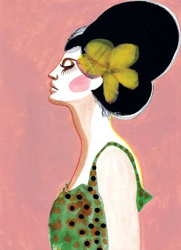 Limited Edition Print / Sophie / 11x16 inches by PeggyWolfDesign