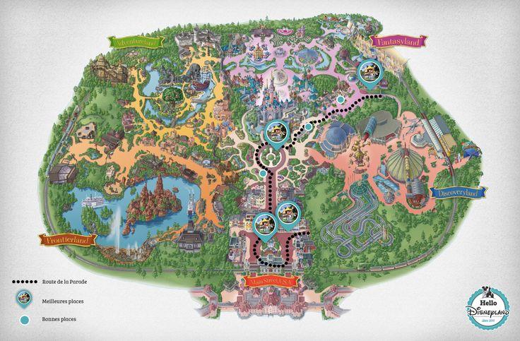 Les meilleures places pour voir la Parade Disneyland Paris