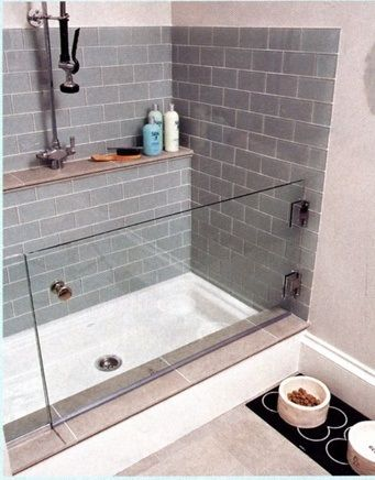 Best 25 dog washing station ideas on pinterest dog wash pet indoor dog washing station glass door for when the dog shakes the water everywhere malvernweather Choice Image