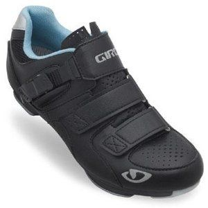 Giro GF22170 Womens Reveille Road Bike Shoes BlkMilky Blue  38 -- See this great product.
