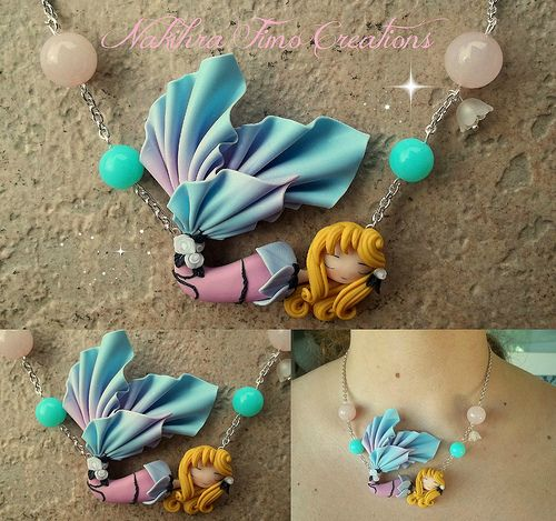 Mermaid Aurora polymer clay | Flickr - Photo Sharing!