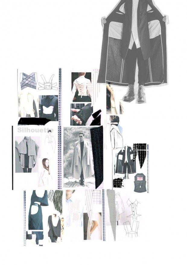 Fashion Sketchbook - fashion design research; the creative process; fashion portfolio // Jodi Worbey