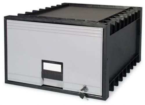 Storex Archive Drawer For Legal Files Storage Box, 24 , Black/Gray in Business & Industrial, Office, Office Furniture | eBay