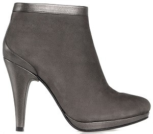Boot ankle glamour greige nubuck bronze