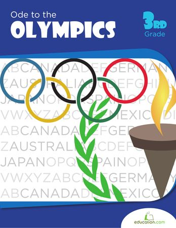 Little athletes will love testing their logic skills with this fun word search that's all about the Summer Olympics!