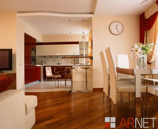 Многогранность образа в расширении пространства, квартира 90 кв.м.