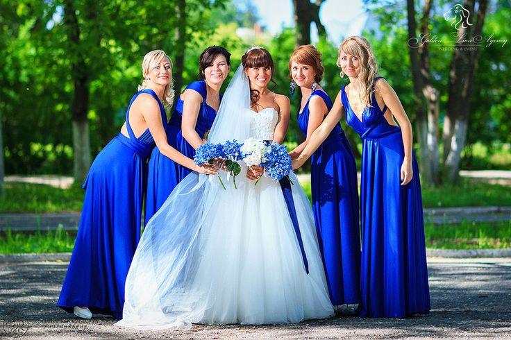 Королевская свадьба, подружки невесты, платья трансформеры