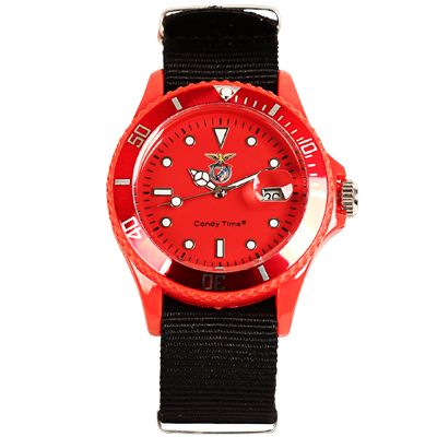 Relógio Oficial Sport Lisboa e Benfica Vermelho - SLB4736-38