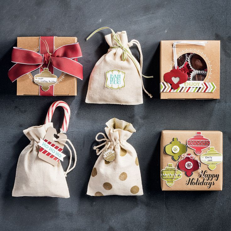 Tags and packaging that will delight even the grinchiest of grinches!Mini Muslin Bags Stampin Up, Cards Ideas, Christmas Idease Gift, Gift Ideas, Cards Christmas, Gift Wraps, Holiday Gifts, Christmas Projects, Packaging Ideas
