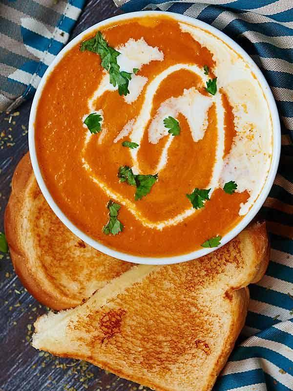 Roasted Tomato Soup via @showmetheyummy