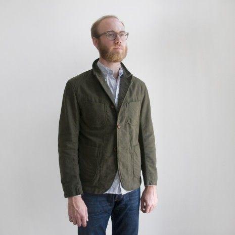 Image result for engineered garments olive moleskin bedford fw15