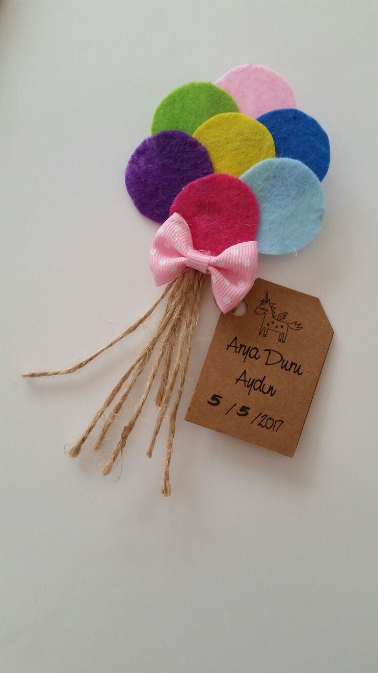 Hand made baloon baby