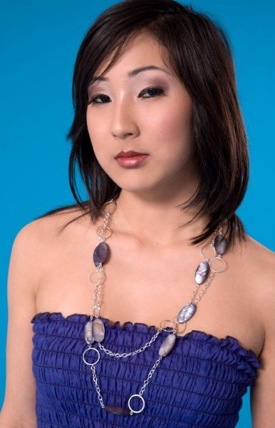 The lovely Juliet modelling Daelia Jewellery at our promotional shoot in April of 2008. Handcrafted, one of a kind, Canadian!    [ #necklace, #jewellery, #jewelry, #earrings, #earing, #earring, #fashion, #accessories, #daelia ] Check out more at www.daelia.com