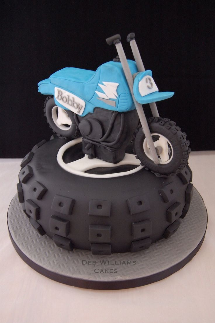 Birthday Cake Ideas Motorcycle : 1000+ images about CAKE - cars on Pinterest Motorcycle ...