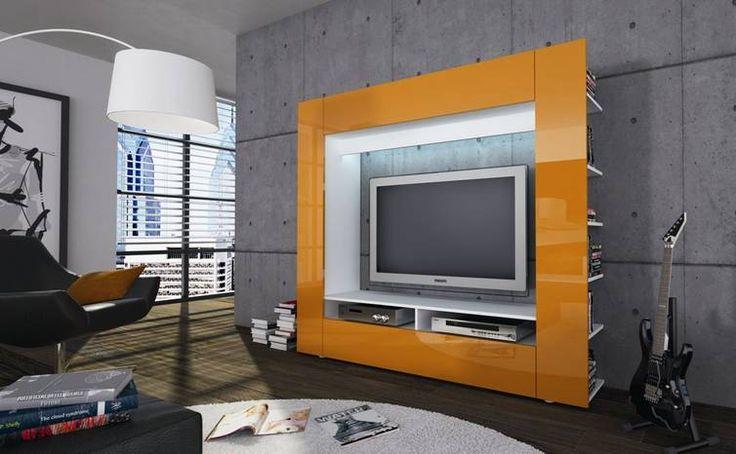TV-Medienwand