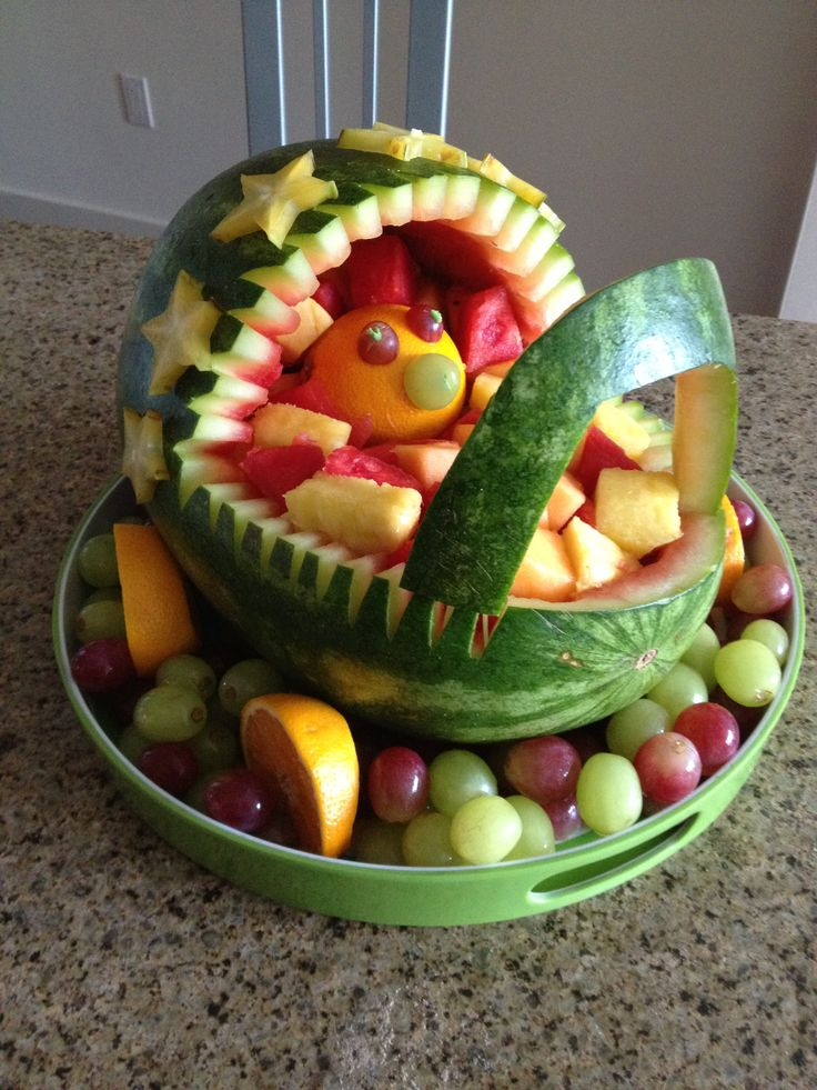 baby carriage fruit salad baby crouch pinterest