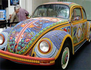 Beaded Volkswagen + Love: Beads L, Beads Cars, Vw Bugs, Volkswagen Beetles, Beads Volkswagen, Beads Vw, Vw Cars, Beads Beetles, Cars Repin
