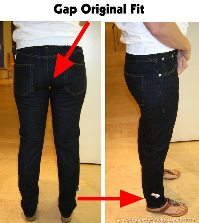 Gap and Old Navy Make Mom Jeans
