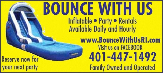 BOUNCE WITH US is focused on providing high-quality. Moon Bounce Rentals for customers in Rhode Island and  the surrounding Massachusetts area
