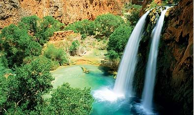 Grand Canyon Havasu Falls Hiking