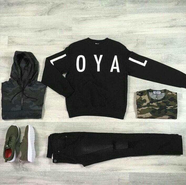 Retrouvez ce look sur http://realnswag.fr #urbanstyle#loyal#camo#kaki#outfit#streetstyle#streetwear