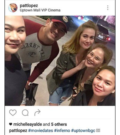 LOOK: Michelle Ayalde and Bea Alonzo reunited