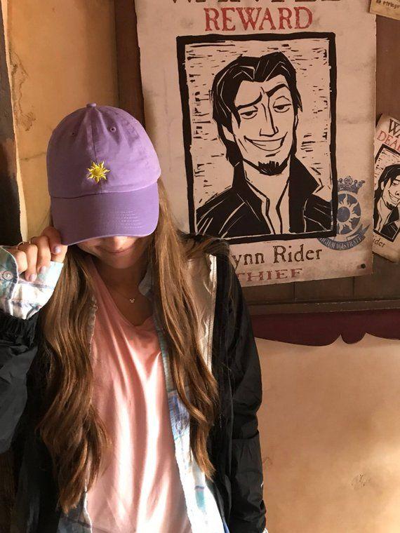 Tangled Hat Rapunzel Hat Disney hat Disney Dad hat Tangled  5b422828f82