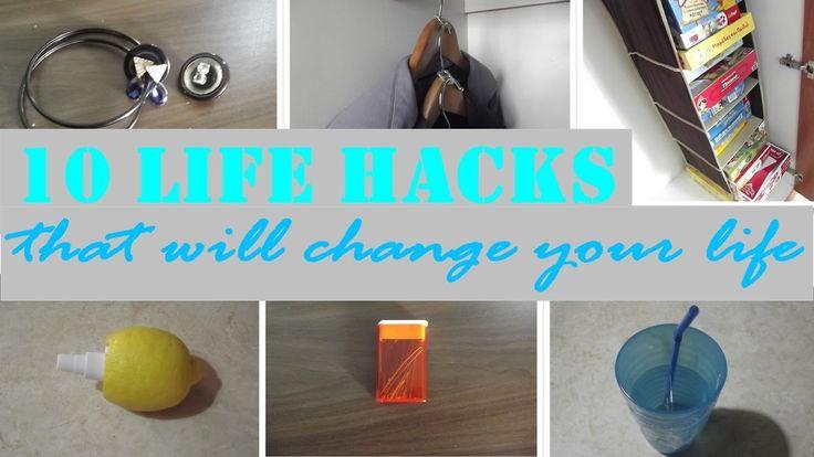 10 Life Hacks that will change your life - 10 Κόλπα που κάνουν τη ζωή ευ...