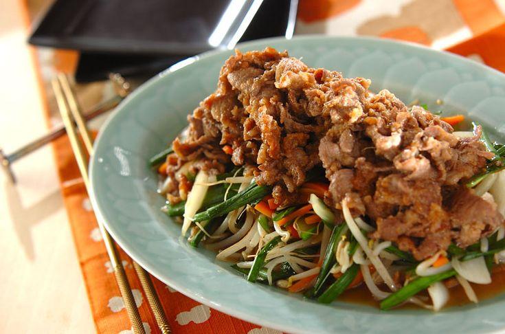 冷えによる痛みが気になる時に。ピリ辛のラム肉、ニラで冷え撃退!ジンギスカン風ラム肉の炒め物[エスニック料理/炒めもの]2014.11.07公開のレシピです。