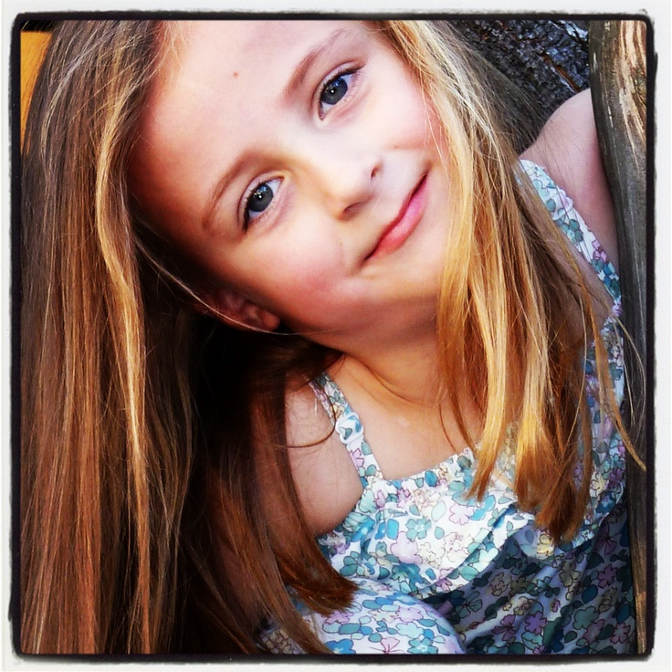 Beautiful golden hair. my gorgeous god daughter Claudia x