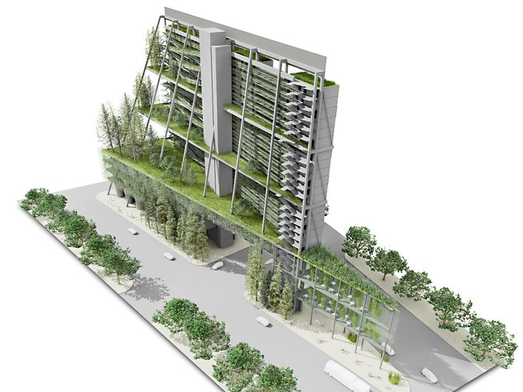 "vertical farming architecture thesis The vertical farm ""space for urban operations 2050"" by daniel podmirseg is the first vertical farm, developed for a degree thesis on the architectural."